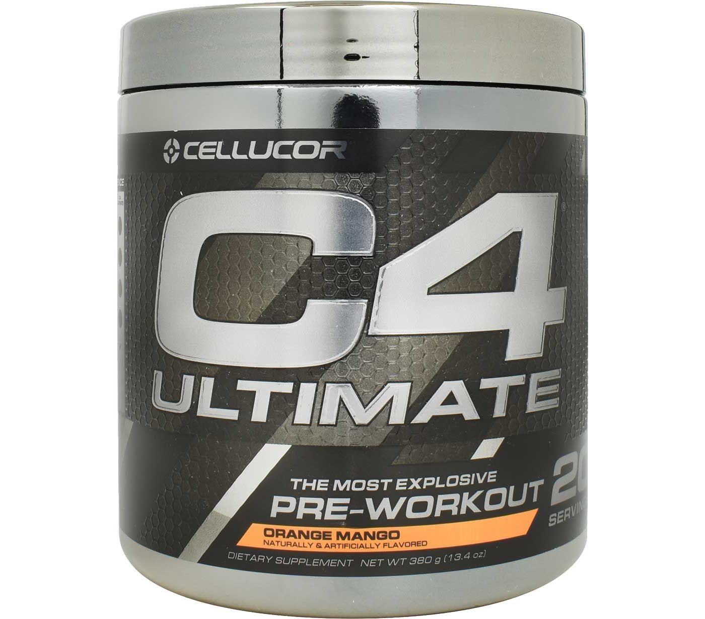 Cellucor C4 Ultimate Pre-Workout Orange Mango 20 Servings