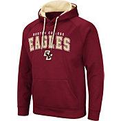 Colosseum Men's Boston College Eagles Green Pullover Hoodie