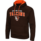 Colosseum Men's Bowling Green Falcons Brown Pullover Hoodie