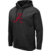 Colosseum Men's Alabama Crimson Tide Pullover Black Hoodie
