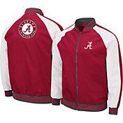 Colosseum Men's Alabama Crimson Tide Crimson Kent Bomber Full-Zip Jacket