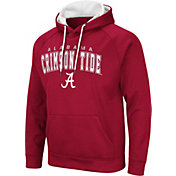 Colosseum Men's Alabama Crimson Tide Crimson Pullover Hoodie