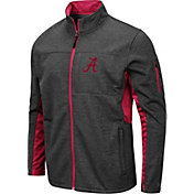 Colosseum Men's Alabama Crimson Tide Grey Bumblebee Man Full-Zip Jacket