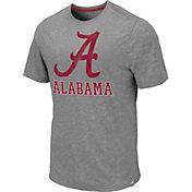 Colosseum Men's Alabama Crimson Tide Grey Campinas T-Shirt