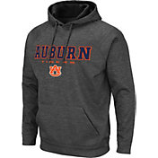 Colosseum Men's Auburn Tigers Grey Pullover Hoodie