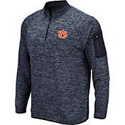 Colosseum Men's Auburn Tigers Blue Quarter-Zip Shirt