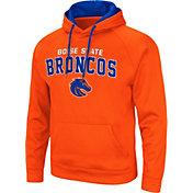 Colosseum Men's Boise State Broncos Orange Pullover Hoodie