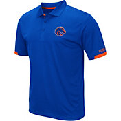 Colosseum Men's Boise State Broncos Blue Fairway Polo