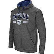 Colosseum Men's Butler Bulldogs Grey Pullover Hoodie
