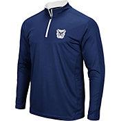 Colosseum Men's Butler Bulldogs Blue Loggerhead Quarter-Zip Shirt