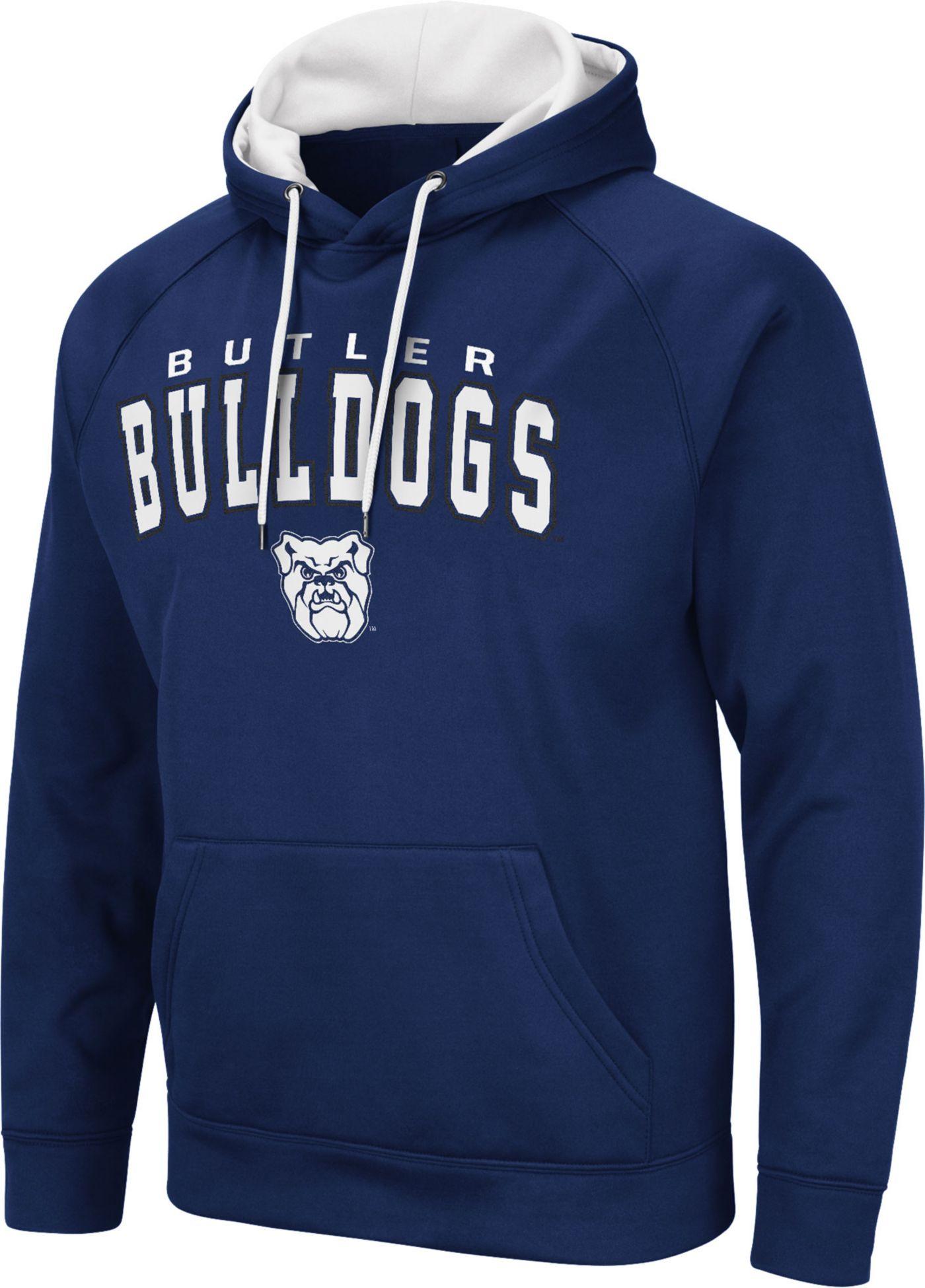 Colosseum Men's Butler Bulldogs Blue Pullover Hoodie