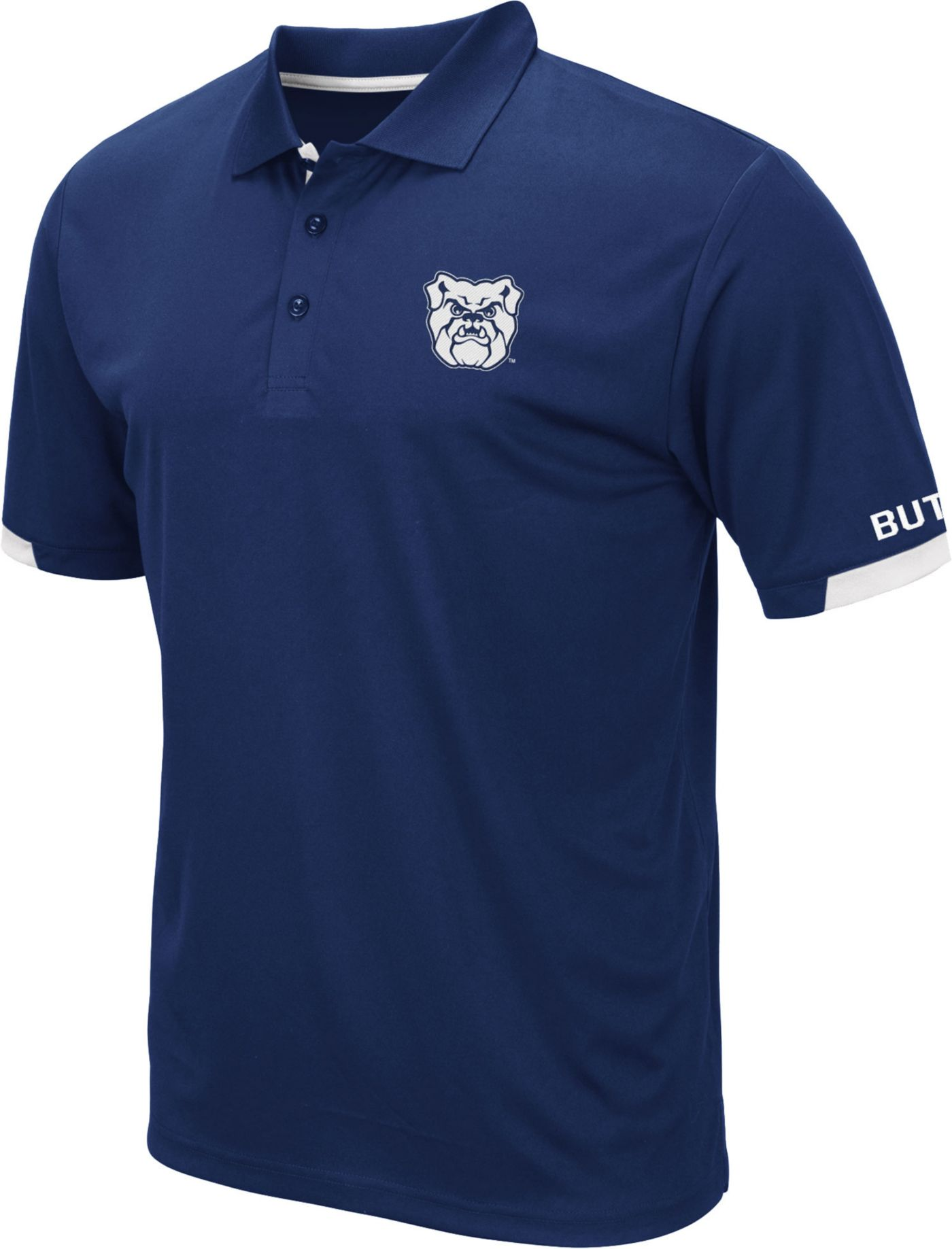 Colosseum Men's Butler Bulldogs Blue Fairway Polo