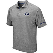 Colosseum Men's BYU Cougars Grey Chip Shot Polo
