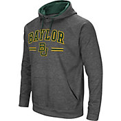 Colosseum Men's Baylor Bears Grey Pullover Hoodie