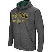 Colosseum Men's Baylor Bears Grey Pullover Hoodie
