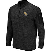 Colosseum Men's UCF Knights Quarter-Zip Black Shirt