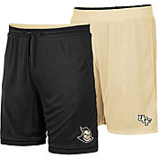 Colosseum Men's UCF Knights Black/Gold Wiggum Reversible Shorts