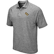 Colosseum Men's UCF Knights Grey Polo