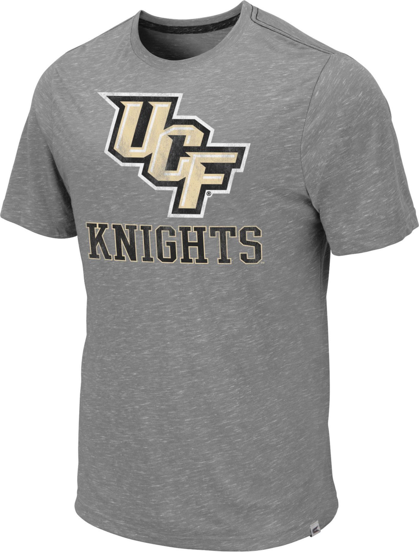 Colosseum Men's UCF Knights Grey Campinas T-Shirt