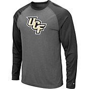 Colosseum Men's UCF Knights Grey Rad Tad Raglan Long Sleeve T-Shirt