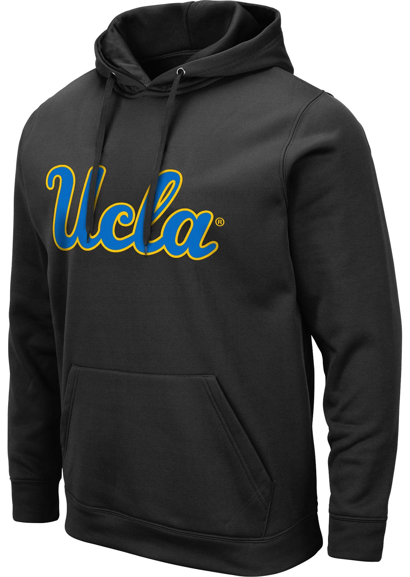 Colosseum Men's UCLA Bruins Pullover Black Hoodie