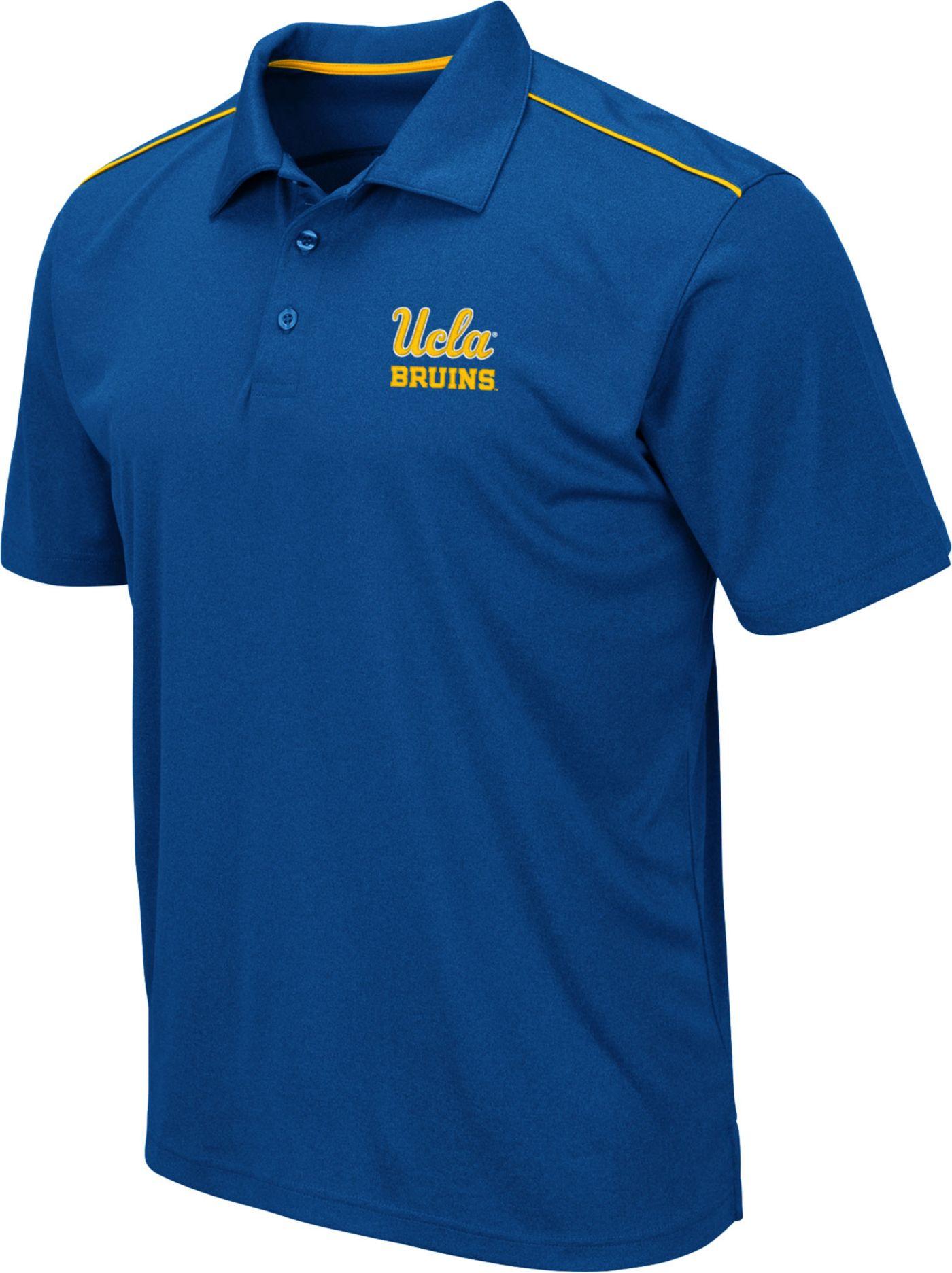 Colosseum Men's UCLA Bruins True Blue Eagle Polo