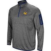 Colosseum Men's Cal Golden Bears Grey Indus River Quarter-Zip Shirt