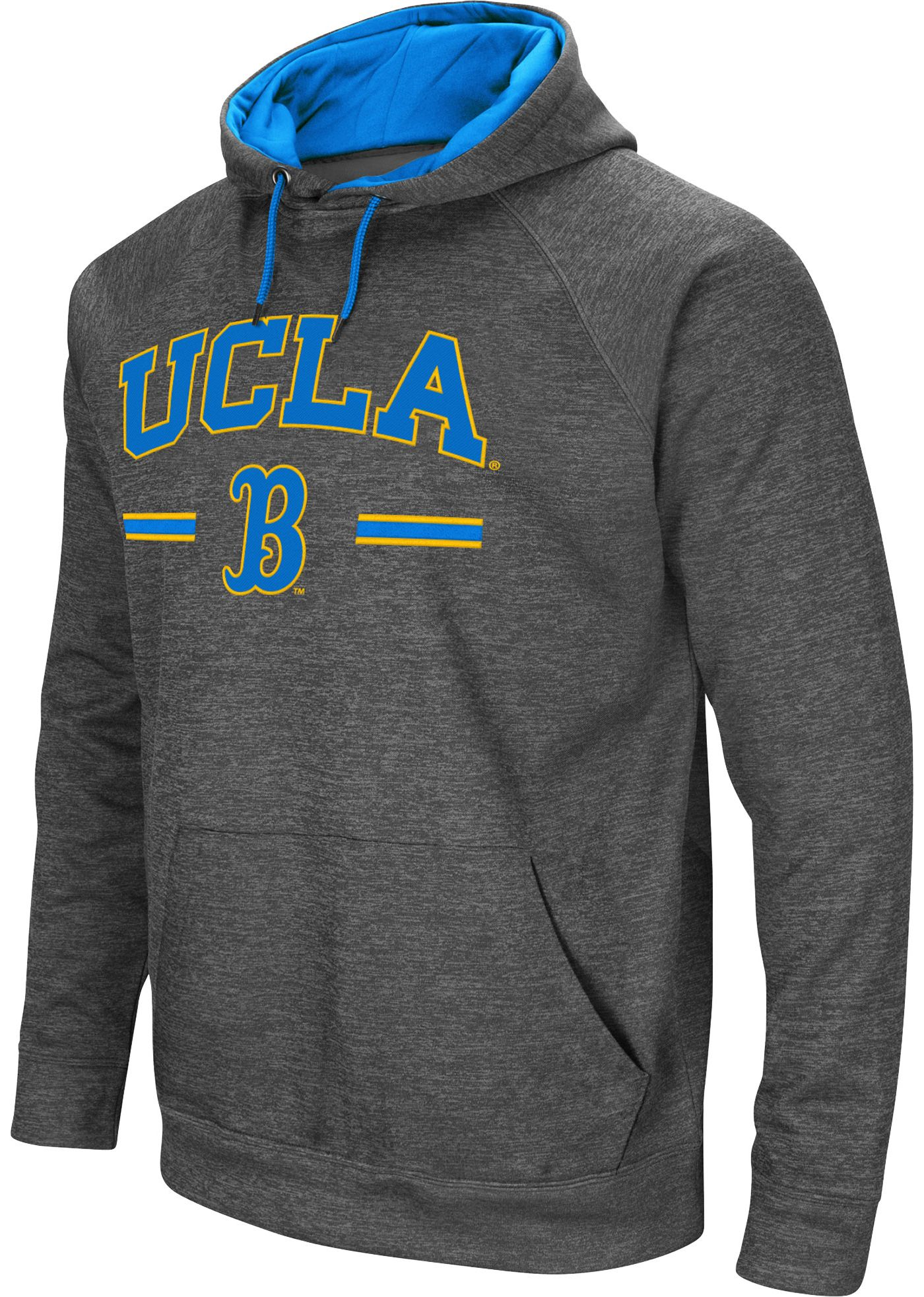 Colosseum Men's UCLA Bruins Grey Pullover Hoodie