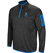 Colosseum Men's UCLA Bruins Grey Indus River Quarter-Zip Shirt