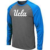 Colosseum Men's UCLA Bruins Grey Rad Tad Raglan Long Sleeve T-Shirt