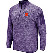 Colosseum Men's Clemson Tigers Regalia Quarter-Zip Shirt