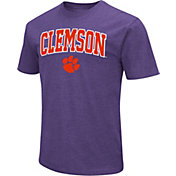 Colosseum Men's Clemson Tigers Regalia Dual Blend T-Shirt