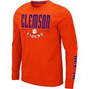 Colosseum Men's Clemson Tigers Orange Streetcar Long Sleeve T-Shirt