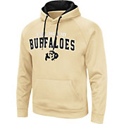 Colosseum Men's Colorado Buffaloes Gold Pullover Hoodie