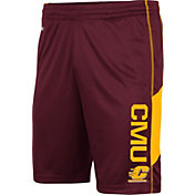 Colosseum Men's Central Michigan Chippewas Maroon Grizzly Shorts
