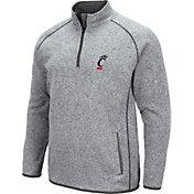 Colosseum Men's Cincinnati Bearcats Grey Amur Quarter-Zip Shirt