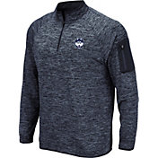 Colosseum Men's UConn Huskies Blue Quarter-Zip Shirt