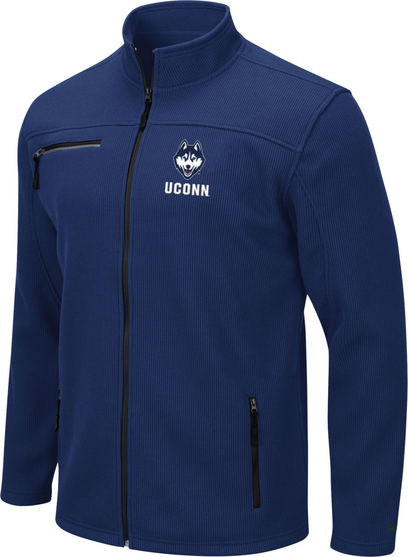 Colosseum Men's UConn Huskies Blue Willie Full-Zip Jacket