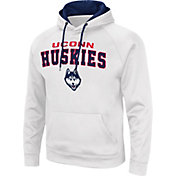 Colosseum Men's UConn Huskies Red Pullover Hoodie