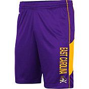 Colosseum Men's East Carolina Pirates Purple Grizzly Shorts