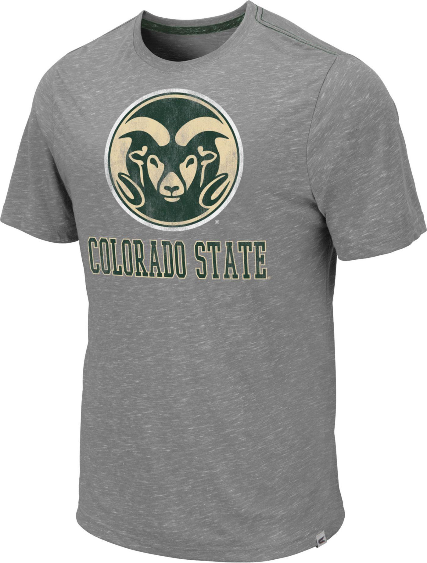 Colosseum Men's Colorado State Rams Grey Campinas T-Shirt