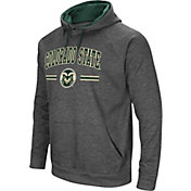 Colosseum Men's Colorado State Rams Grey Pullover Hoodie