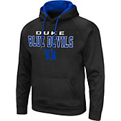 Colosseum Men's Duke Blue Devils Pullover Black Hoodie