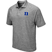 0969a37fc666b Product Image · Colosseum Men s Duke Blue Devils Grey Chip Shot Polo