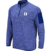 Colosseum Men's Duke Blue Devils Duke Blue Quarter-Zip Shirt