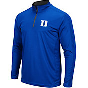 Colosseum Men's Duke Blue Devils Duke Blue Loggerhead Quarter-Zip Shirt