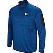 Colosseum Men's Duke Blue Devils Duke Blue Indus River Quarter-Zip Shirt