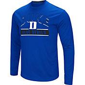 Colosseum Men's Duke Blue Devils Duke Blue Ganges Long Sleeve T-Shirt
