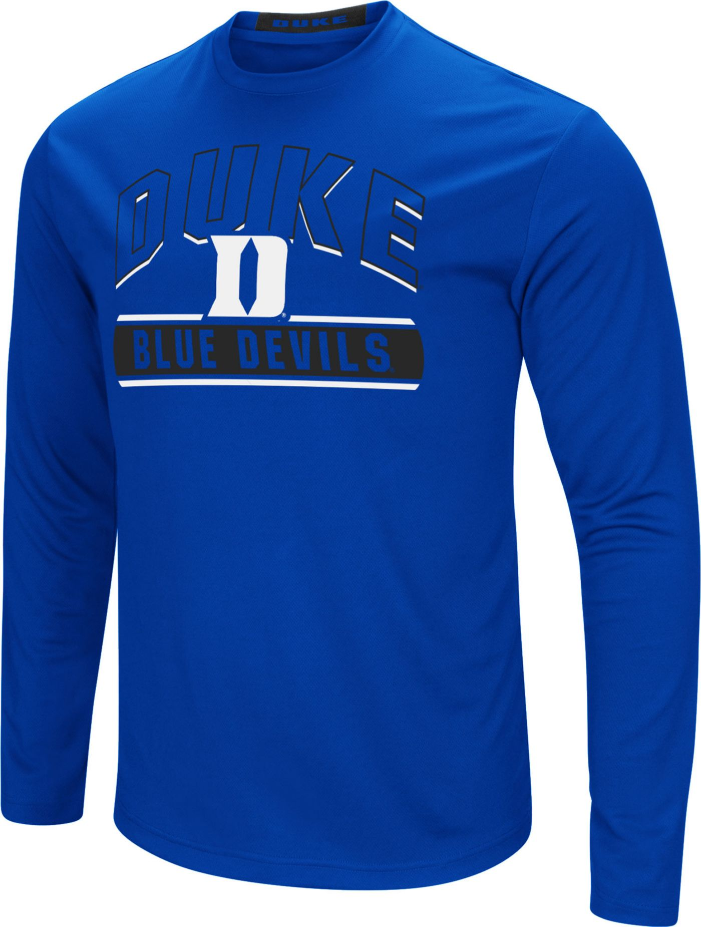 Colosseum Men's Duke Blue Devils Duke Blue Ganges Long Sleeve T-Shirt