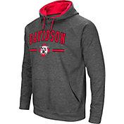 Colosseum Men's Davidson Wildcats Grey Pullover Hoodie